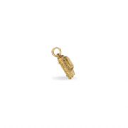 9ct Gold London Taxi Pendant 1.9g